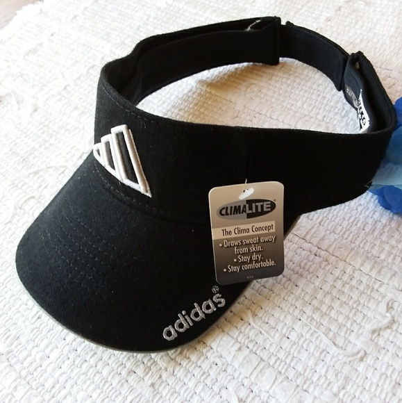 adidas Other - adidas • Athletic Visor Climalite Black and White